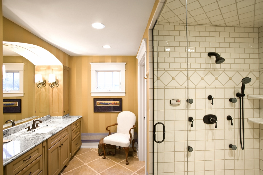 naperville bathroom remodel click here to view our facebook gallery of this project - Bathroom Remodeling Naperville