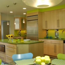"Color in the kitchen continues! Great ideas to ""Reanimate"" your kitchen with new life!"