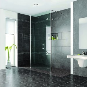 Seemless showers allow for easy access & spacious feel.