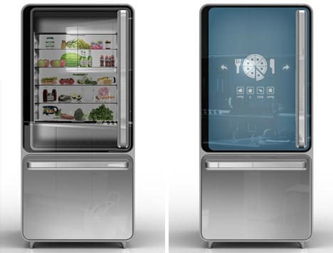 Digital fridge of the future