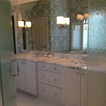 Style Kick Up for Naperville Master Bath
