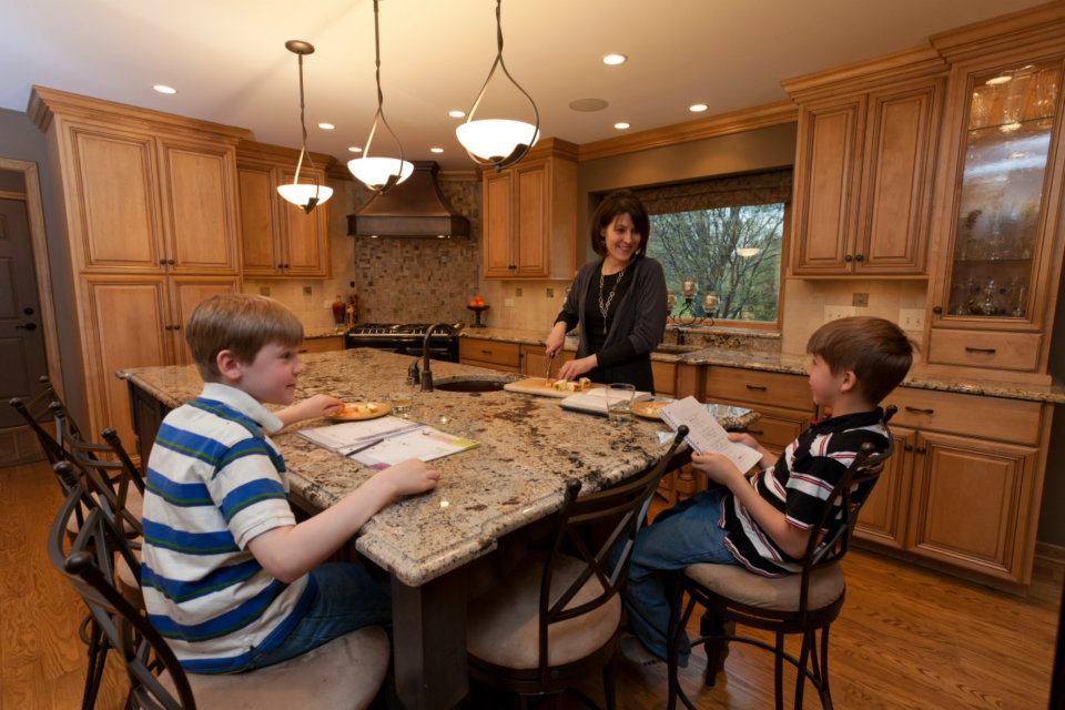 kitchen remodel lellbach builders