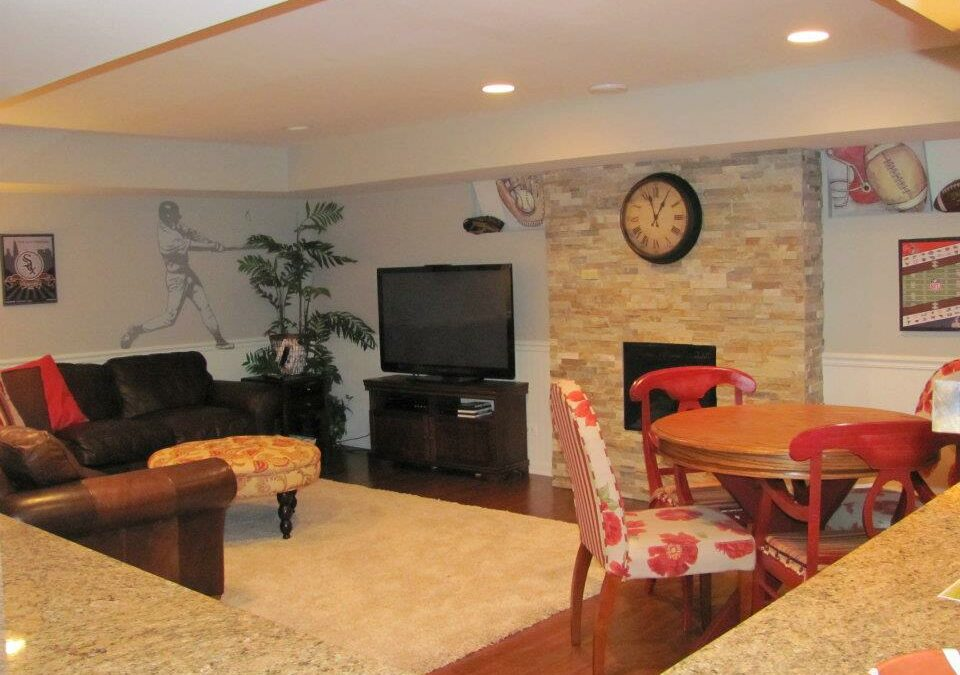 house remodeling - basement update