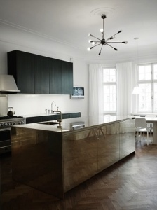 Cabinets are trending to clean & simple lines.