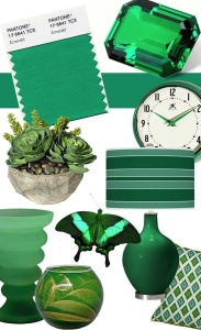 Splash of the Emerald Green will freshen your home!