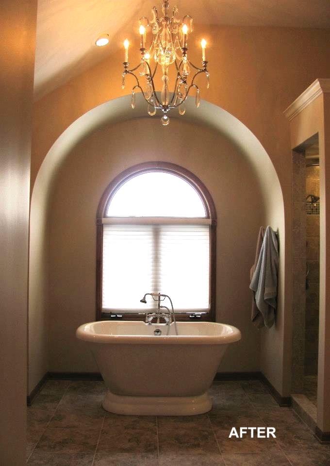 naperville bathroom remodel soaking tub