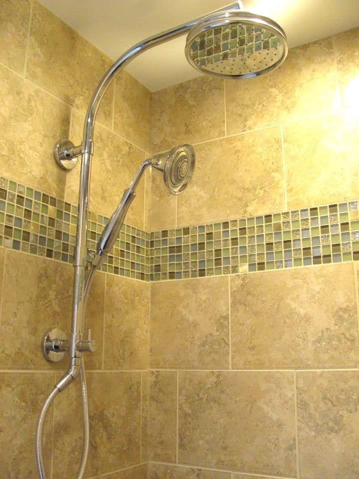 naperville bath remodel rain shower