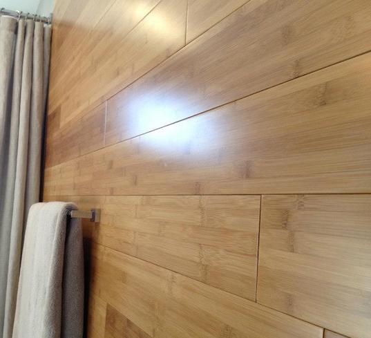 bathroom remodel bamboo flooring