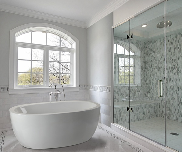 Freestanding tub- function with style.