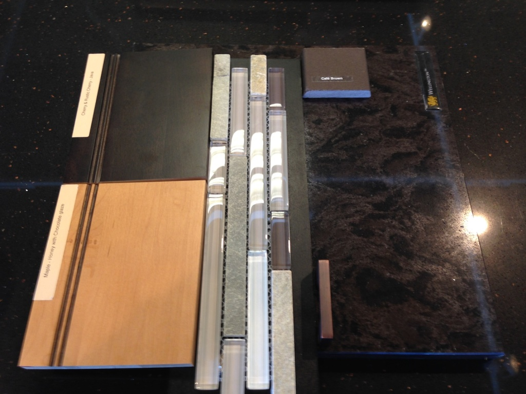 Finishes for the kitchen remodel