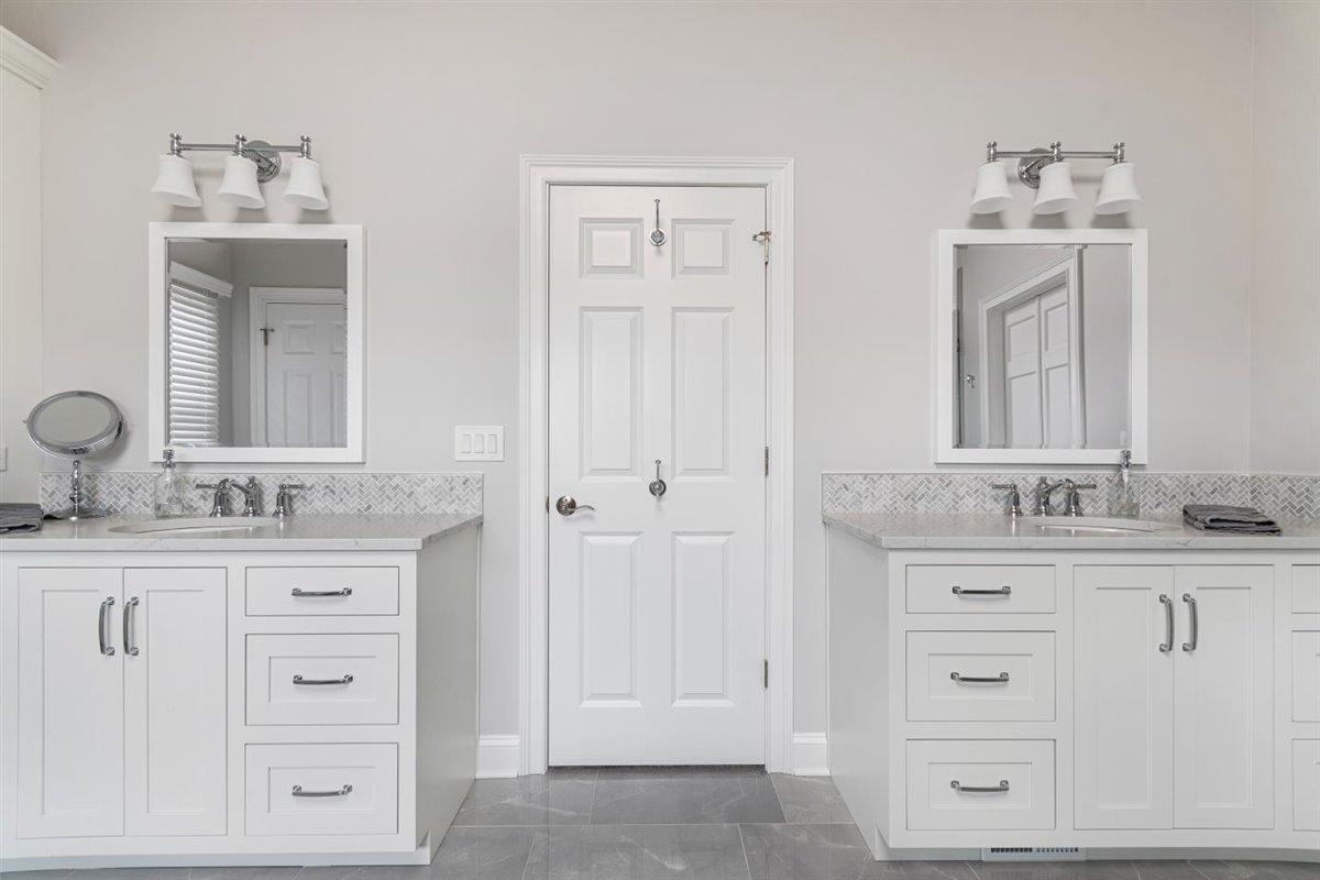 master bathroom remodel after